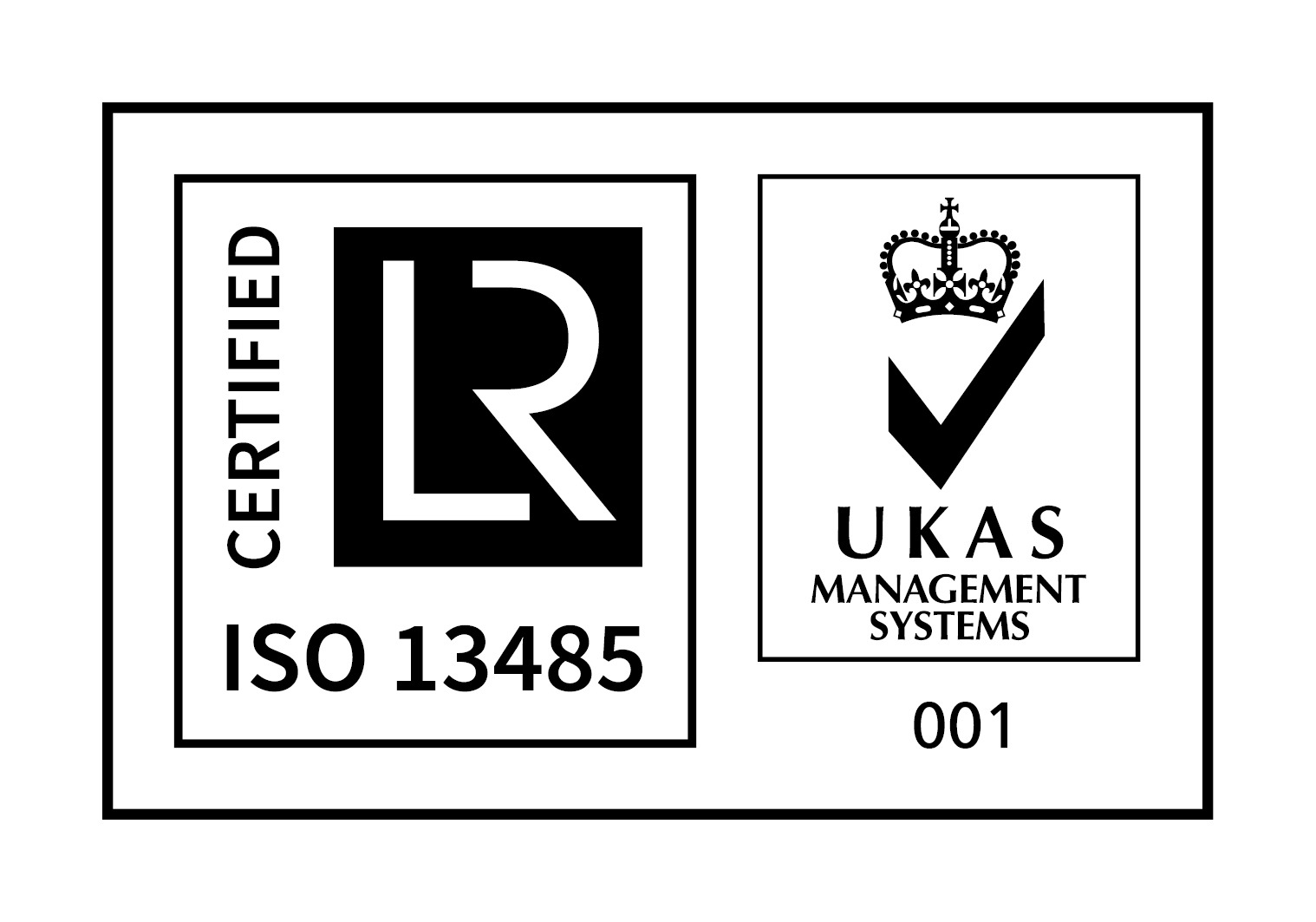 UKAS AND ISO 13485 - RGB